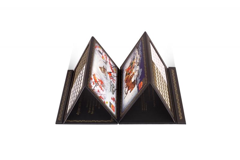Кашированная папка-календарь на заказ
