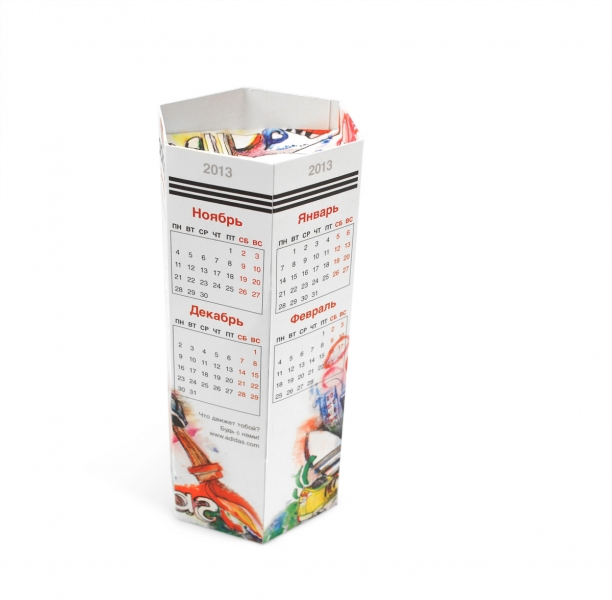 изготовление календарей москва