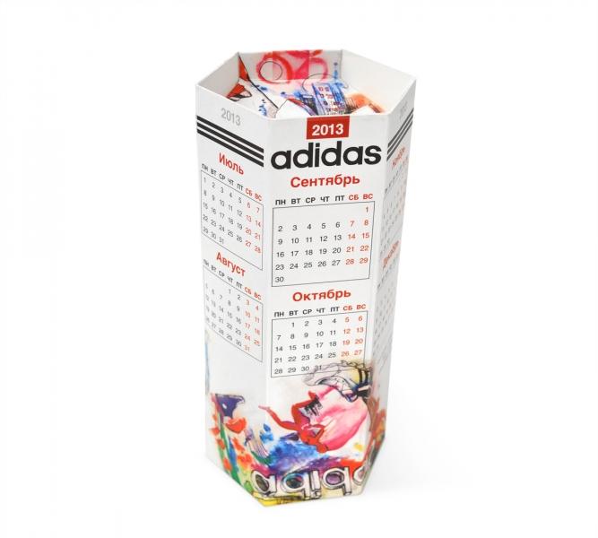 изготовление объемных календарей