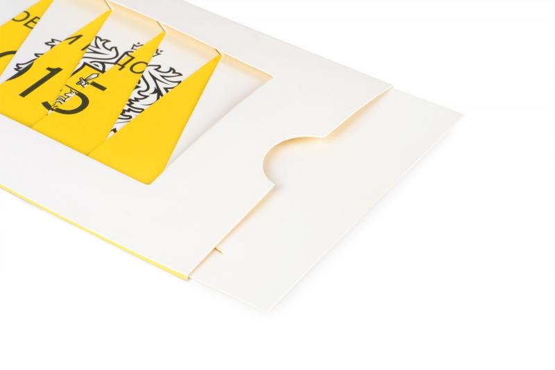 Выдвижные элементы на открытке