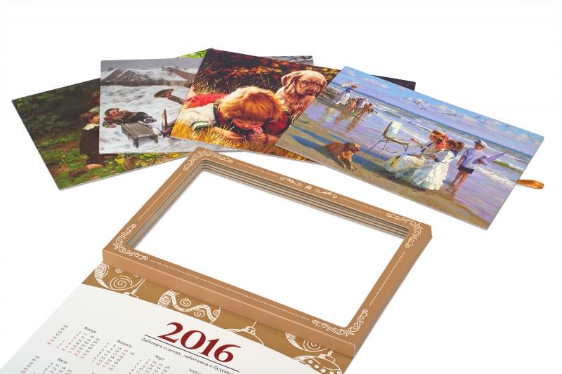 изготовление календарей в подарок