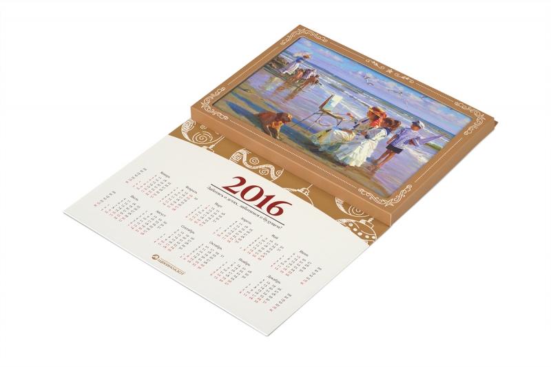идеи для календаря в подарок для вашего клиента