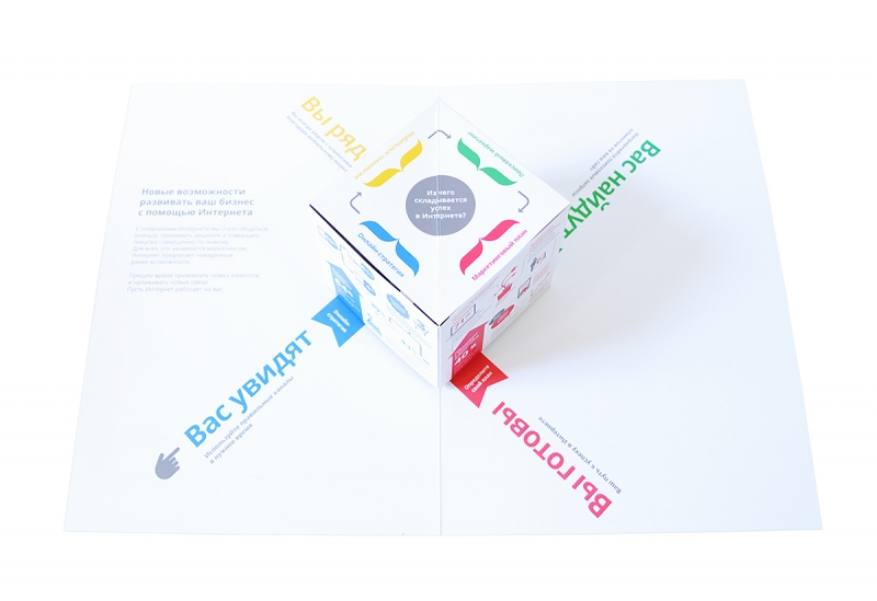 pop up открытки для ваших клиентов