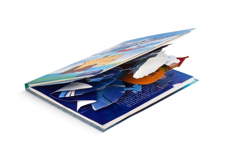 печать буклетов с pop-up открыткой внутри