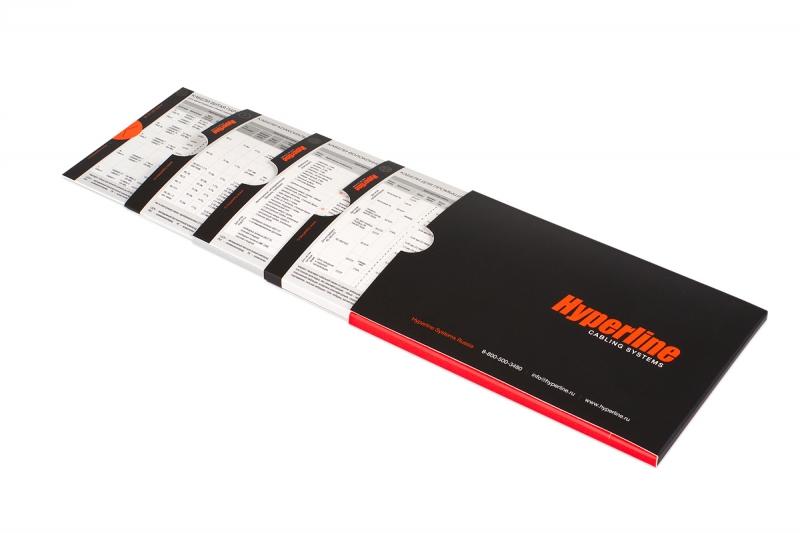печать оригинальных брошюр о компании