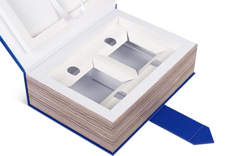 сувенирная упаковка коробка-книга